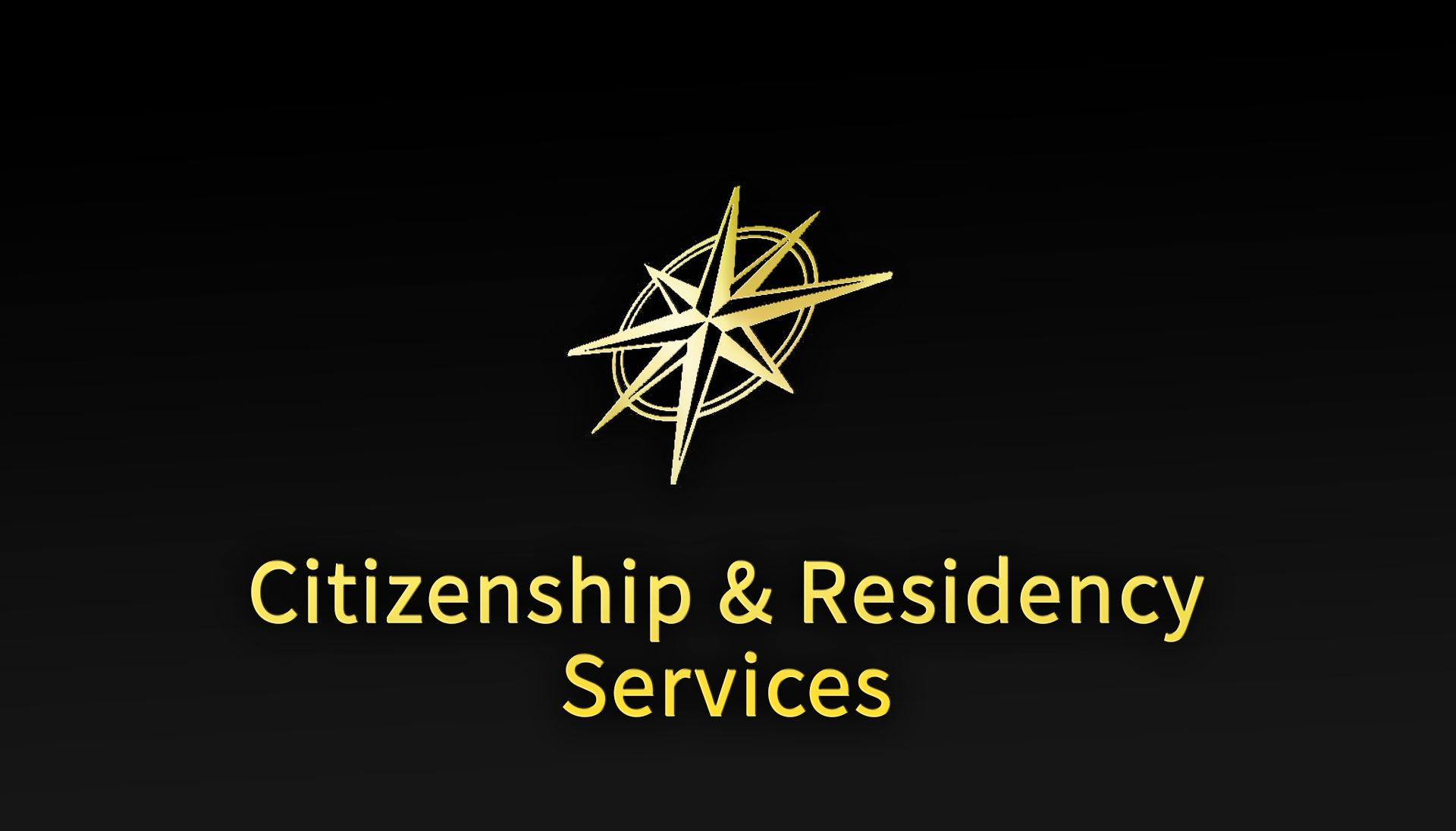 Citizenship and Residency Services GCI